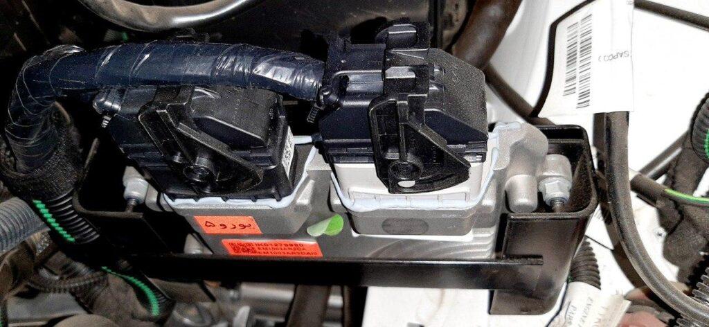 ایسیو غرب استیل یورو ۵ و سوکت های سیم کشی موتور