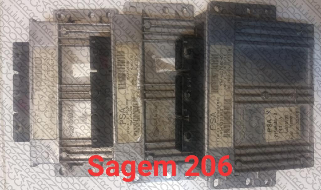 خرید ECU دست دوم پژو 206 از نوع ساژم