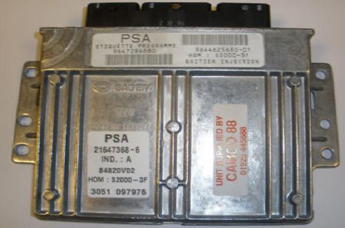 ECU ساژم S2000-3f