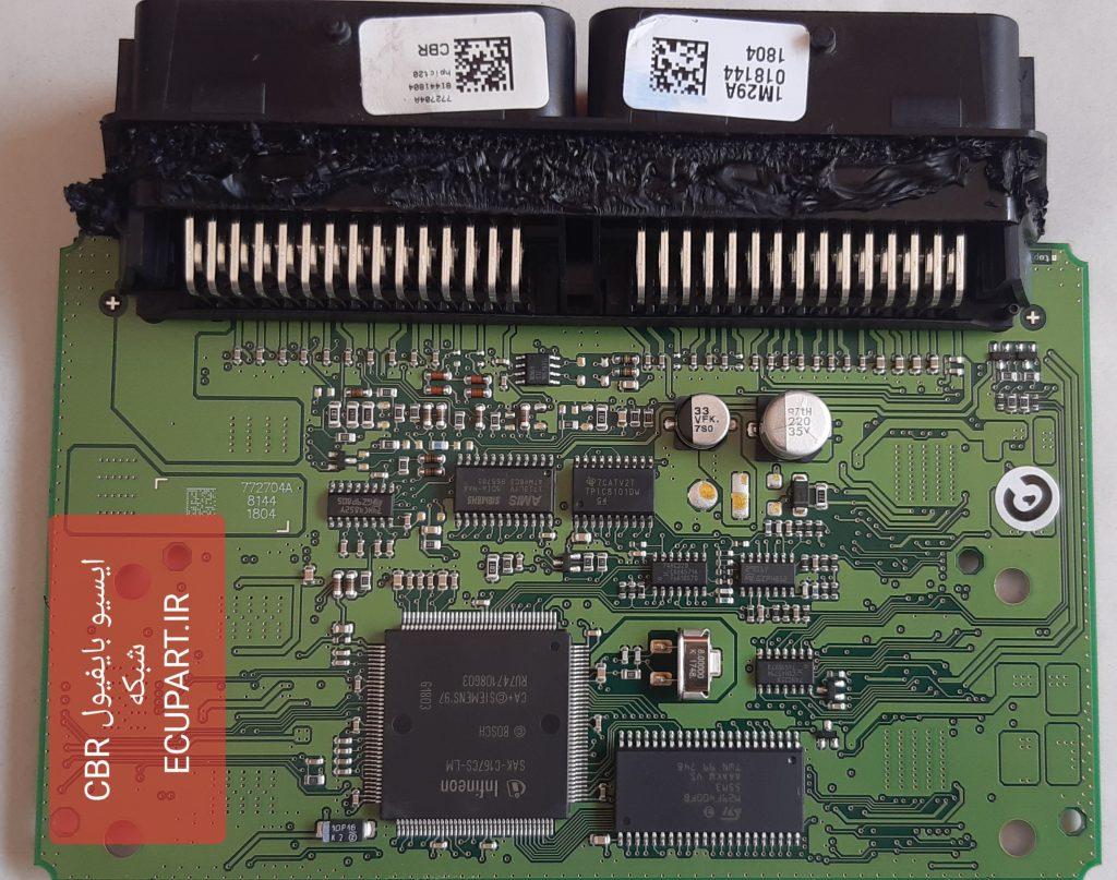 پردازنده و آیسی حافظه روی برد