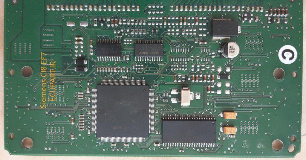 تصویر پشت و رویای سی یو زیمنسCI8 سمند EF7
